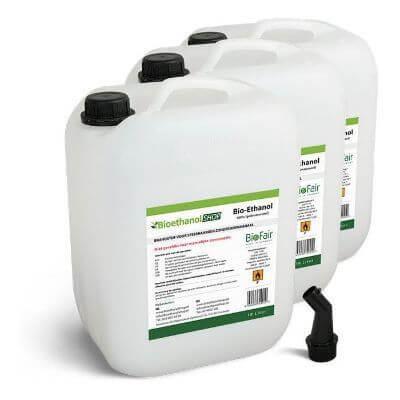 bio-ethanol in jerrycan